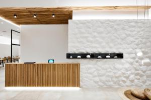 The floor plan of Arco Solium Suites