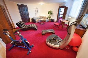 Fitness centrum a/nebo fitness zařízení v ubytování Brioni Suites