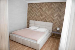 Кровать или кровати в номере VIP Hotel