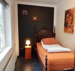 A bed or beds in a room at Selfoss Hostel