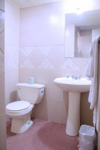 A bathroom at Days Inn by Wyndham Philadelphia - Roosevelt Boulevard