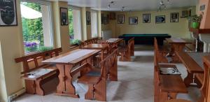 Restauracja lub miejsce do jedzenia w obiekcie Willa Jasna