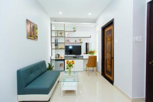 TV/trung tâm giải trí tại CBD Home - Home in Central - The Art