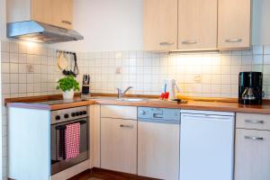 Küche/Küchenzeile in der Unterkunft Haus Talblick