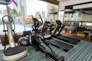 The fitness center and/or fitness facilities at The Grand Sathorn
