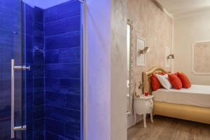 A bathroom at I Fiumi Di Navona