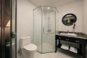 A bathroom at Matilda Boutique Hotel & Spa