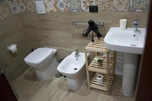 A bathroom at Mary's house