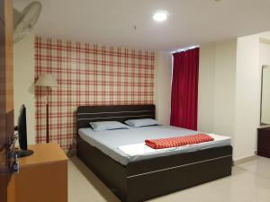 Кровать или кровати в номере Offbeat CCU Bunkers