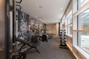 The fitness center and/or fitness facilities at Hampton By Hilton Utrecht Centraal Station