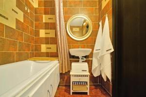 Ванная комната в Apartments at Myakinino by design project