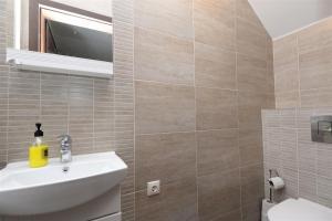 A bathroom at Naujoji Karkle