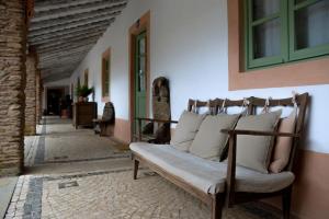 A seating area at Belgais