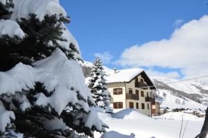 Baita Blesaccia v zimě