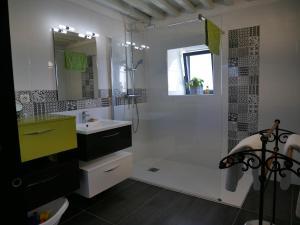 A bathroom at La Maison Forte
