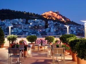 A restaurant or other place to eat at Athens Zafolia Hotel