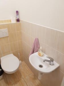 Łazienka w obiekcie Hostel Opletalova