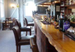 The lounge or bar area at The Red Lion Longwick, Princes Risborough