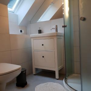 Łazienka w obiekcie Willa Azalia