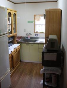 Кухня или мини-кухня в Magome Chaya