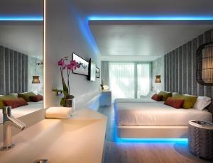 Zona de estar de Hard Rock Hotel Ibiza