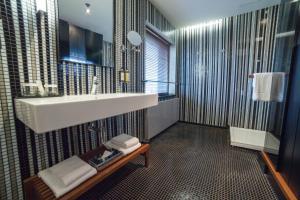 Kúpeľňa v ubytovaní Hotel Yasmin Košice