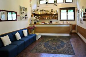 The lounge or bar area at Residence Biancaneve