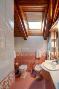 A bathroom at Residence Jecna