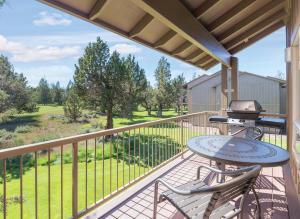 A balcony or terrace at WorldMark Eagle Crest