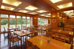 A restaurant or other place to eat at Yuuyu No Sato Yusa