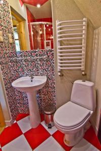 Łazienka w obiekcie Zakątek Pod Smrekami