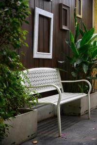 A balcony or terrace at Cae Villa Hua Hin