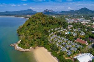 Een luchtfoto van Krabi Resort