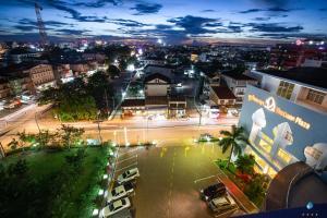 A bird's-eye view of Vientiane Plaza Hotel