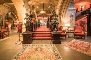 The lobby or reception area at Coombe Abbey Hotel