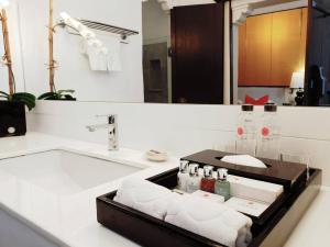 Salle de bains dans l'établissement Rachamankha Hotel a Member of Relais & Châteaux
