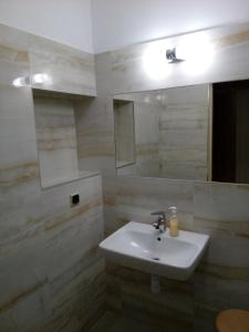 Ванная комната в Hotel Śnieżnik