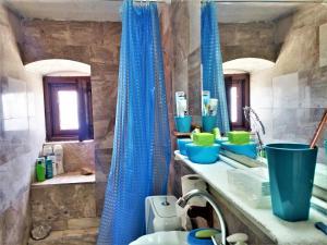 Ένα μπάνιο στο Blue Horizon House