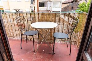 A balcony or terrace at Na Jordana Flat
