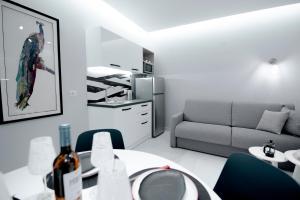 A kitchen or kitchenette at Frunze Luxury Apartments