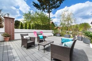 A patio or other outdoor area at Beach House - przy plaży