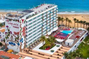 Vista aerea di Ushuaia Ibiza Beach Hotel - Adults Only