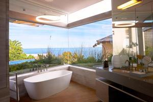 Een badkamer bij Ellerman House