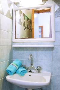 Ett badrum på Demetris studios