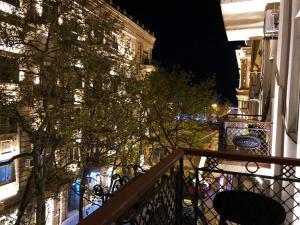 Uma varanda ou terraço em Apartament two room in Torqovy