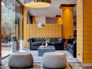 El vestíbulo o zona de recepción de Sansi Pedralbes