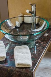 Un baño de Hotel Le Tissu