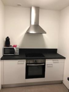 A kitchen or kitchenette at Résidence Moderne