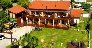 Uma vista aérea de POUSADA PARAÍSO DA LAGOA