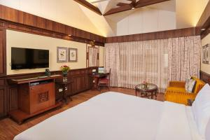 A television and/or entertainment center at Mayfair Darjeeling